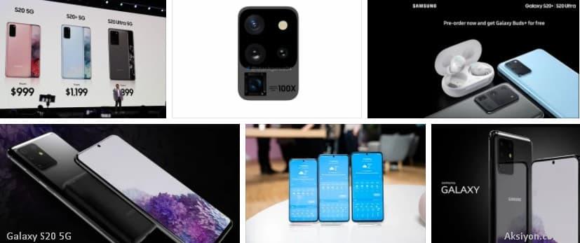 Galaxy S20 5G Serisi İncelemesi