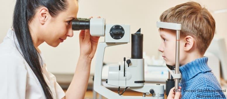 Okul Öncesinde Çocuklarımız İçin Göz Muayenesinin önemi