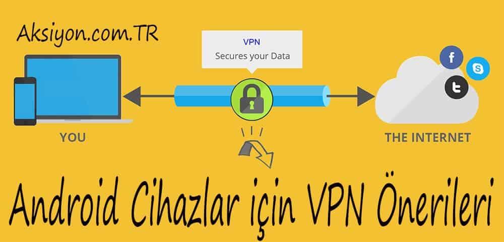 Android Telefon, Tablet ve Diğer Cihazlar için VPN Önerileri