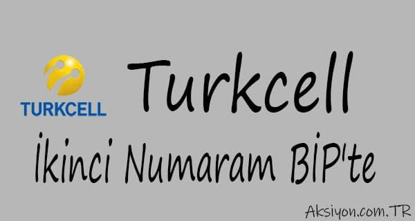 Turkcell İkinci Numaram BİP'te Nasıl Kullanılır