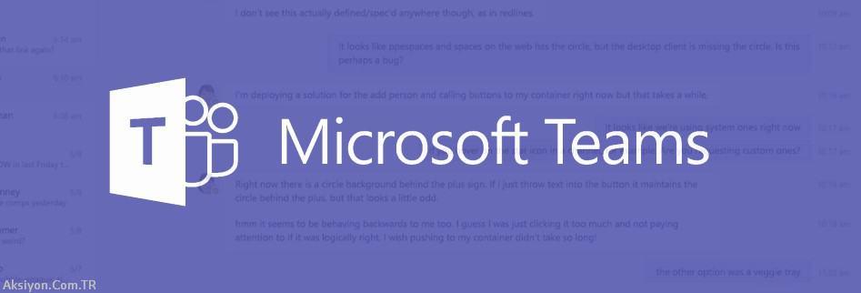 Microsoft Teams ile Sunum Yapma